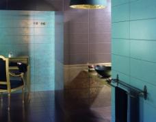 浴室卫生间瓷砖铺贴样板间铺砖图片