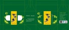 西洋参包装设计图片