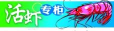 活虾专柜图片