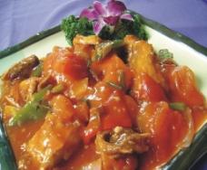 马来西亚鲜茄烩大马鱼图片