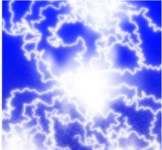闪电艺术纹理图片