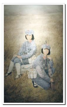 草地红军图片