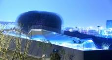 2010上海世博会英国馆夜景图片