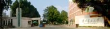 福建农林大学校门口图片