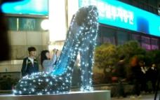 高跟鞋造型艺术图片