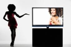 夏普液晶电视 产品系列海报 液晶电视图片
