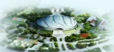 广州亚运会场馆 自行车轮滑运动中心 府看图片