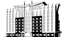 部军大楼图片