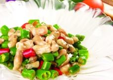 青椒炒黄鱼肚图片