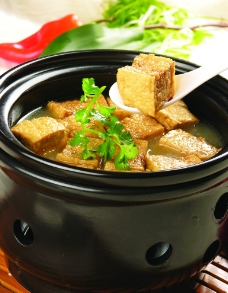 九婶豆腐图片