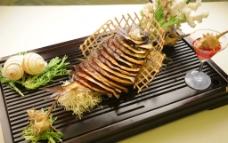 金牌烟熏鲜锅鱼图片