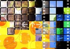 网路商机 网络 电子 科技 数码科技背景