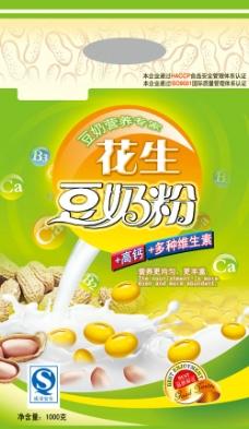 花生豆奶粉圖片
