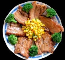 扣肉玉米图片