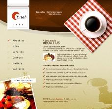 甜品甜点网页模板图片