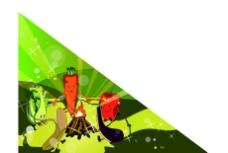 水果蔬菜卡通形象图片