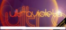 设计 英文 字体 PC ultravioleta