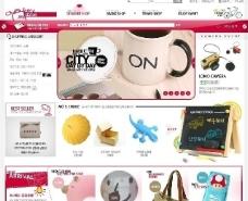 购物网站模板图片
