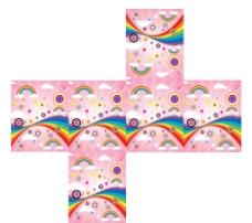 粉色包装盒图片