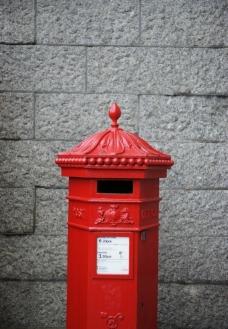 红色的邮箱图片