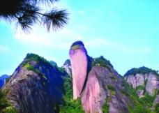 辣椒峰(丹霞石柱)图片