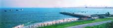 蓝蓝泉州湾图片