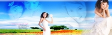 宽幅婚纱模板0456