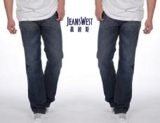 真维斯 logo 2010男式牛仔裤图片