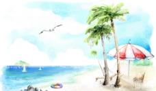 梦幻海景风光图片