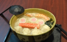 日式海鲜拉面图片