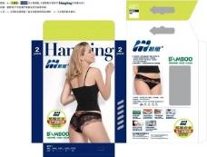女内裤盒子图片