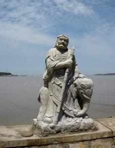 罗汉雕像图片