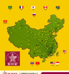 紫薇星與世界各國的發展聯系圖圖片