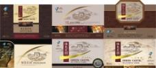 葡萄酒标图片