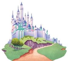 迪士尼睡美人公主城堡图片