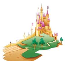 迪士尼公主城堡图片