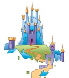 迪士尼灰姑娘公主城堡图片