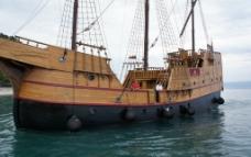 海盗船图片