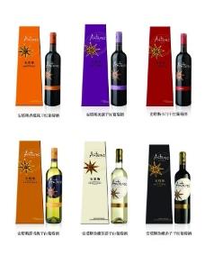 红酒 安塔斯产品组合图片