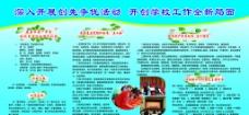 鹿泉市 财政局 展牌 广告设计 学校 简介图片