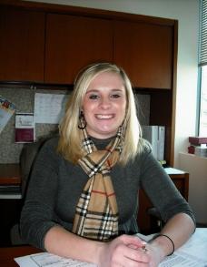 开心的公司白领 办公室女士 OL图片