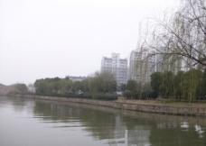 运河沿岸图片