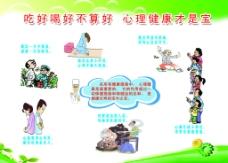 健康教育 农村展板图片