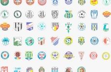 全球2487个足球俱乐部球队标志(捷克)图片