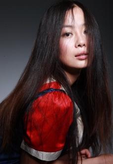 陈彩璇 学生装 写真图片