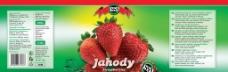 草莓罐头包装图片