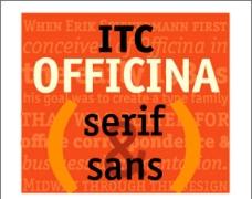 世界100佳 英文商业字体 08 Officina