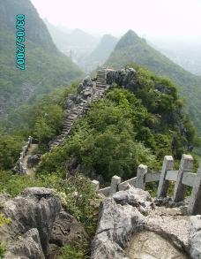 桂林西山公园图片