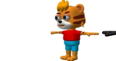 虎年原创角色图片
