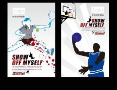 运动鞋橱窗POP广告图片
